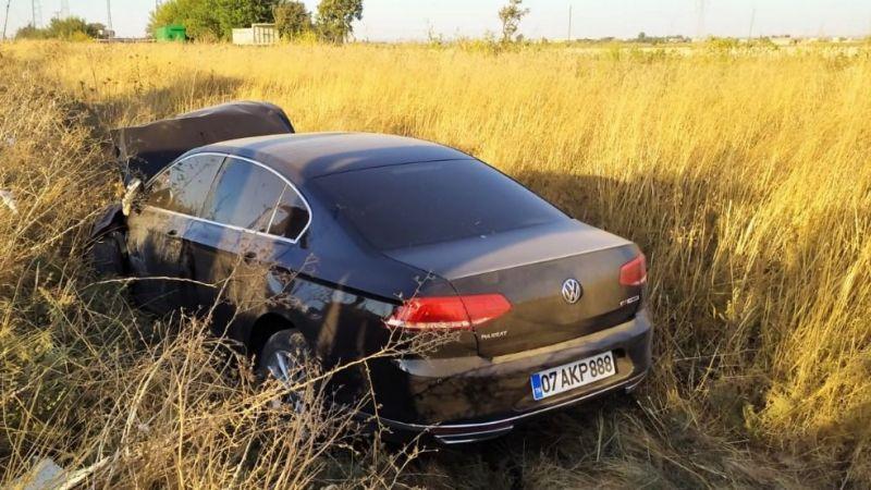 Akçakale yolu üzerinde iki araç çarpıştı: Yaralılar var