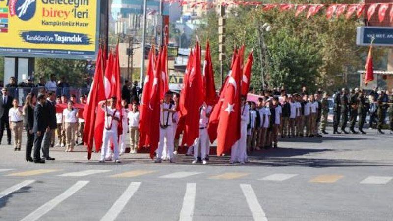 Şanlıurfa için 29 Ekim Cumhuriyet Bayramı programı açıklandı