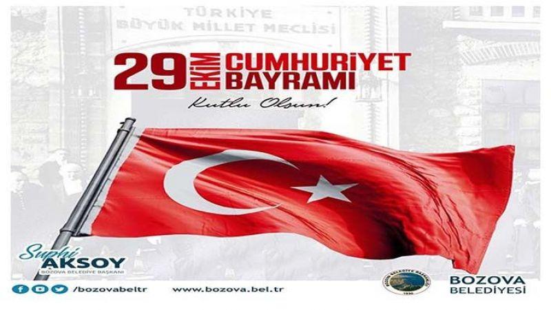 Başkan Aksoy'dan 97. Yıl mesajı