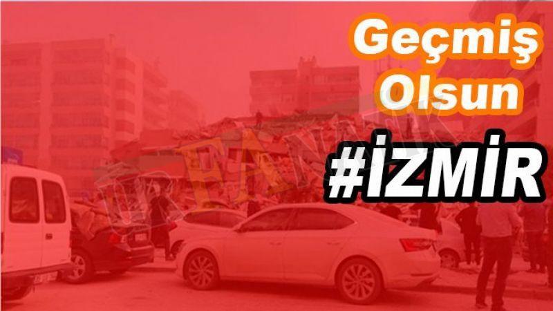 İzmir depremiyle ilgili Urfa'dan 'geçmiş olsun' mesajları