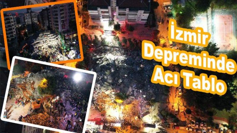 İzmir depremin ağır bilançosu açıklandı
