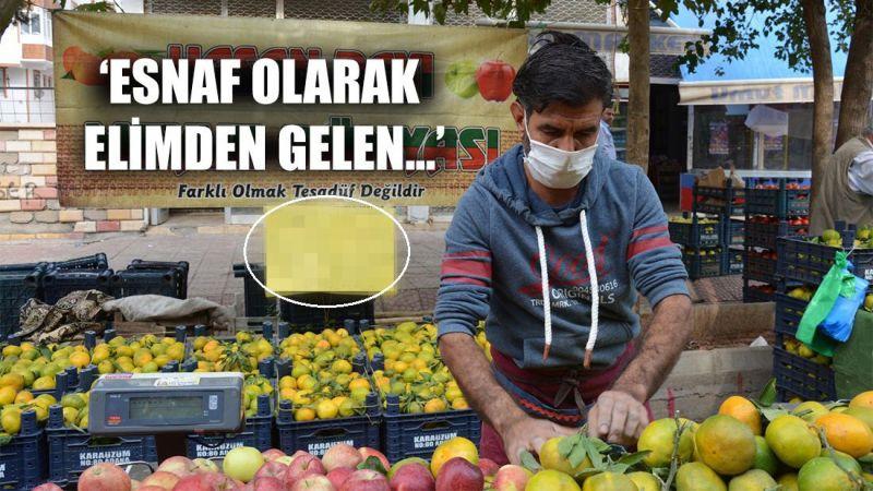 Siverekli seyyar satıcı İzmir için bakın ne yapacak...