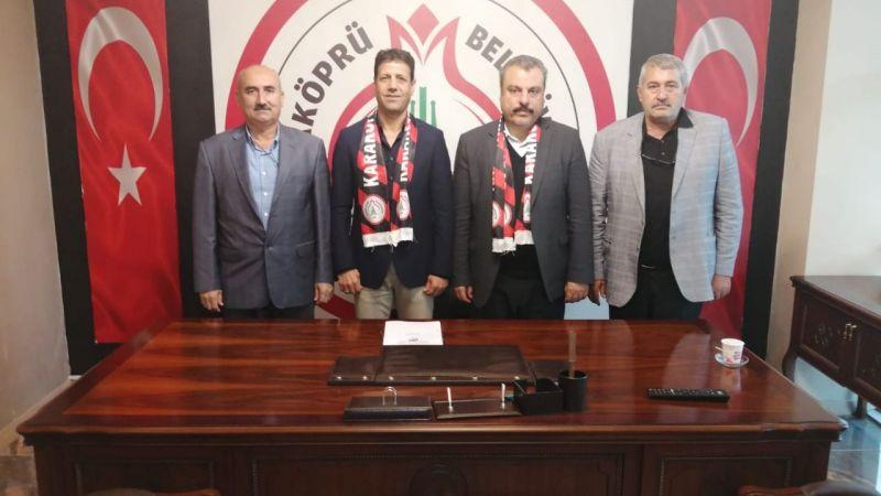 Karaköprü'de imzalar atıldı: Yeni teknik direktör belli oldu