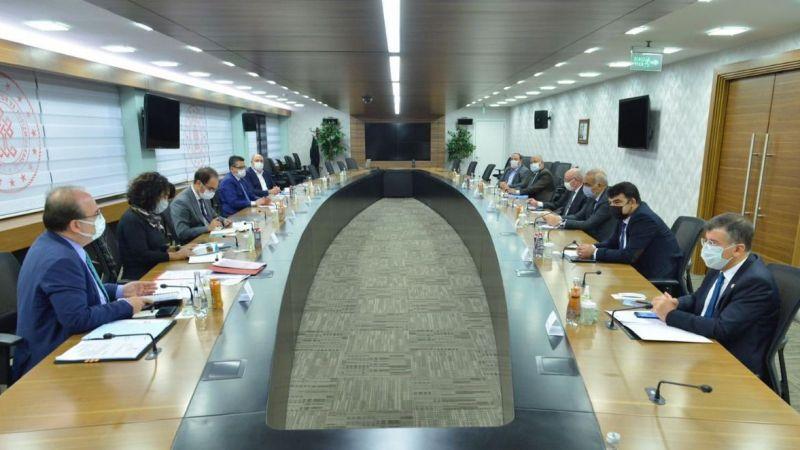 Urfalı Başkanlardan Bakan Yardımcısı Çam'a ziyaret