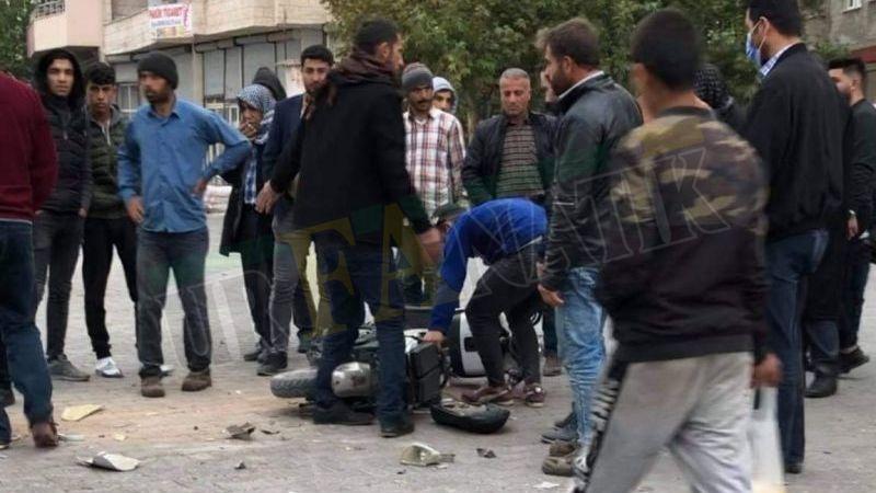 Viranşehir'de otomobil ile motosiklet çarpıştı