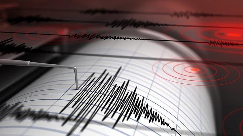 Komşu ilde 3.8 büyüklüğünde deprem