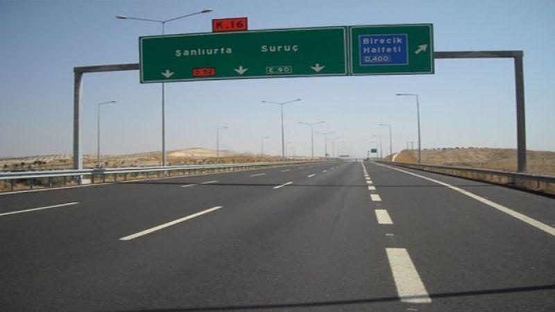 Urfa- Antep yolunda 3 şerit trafiğe kapatıldı