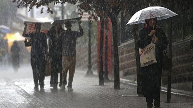 Meteoroloji uyardı! Şiddetli sağanak yağmur geliyor