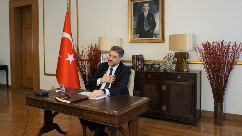 Şanlıurfalı Büyükelçi, Eyyübiyeli öğretmen ve öğrencilerle görüştü