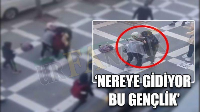 Urfa'da böyle kız kavgası görülmedi: Saç başa girdiler!