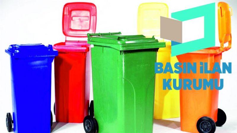Çöp konteyneri ile çöp konteyneri tekeri alınacaktır