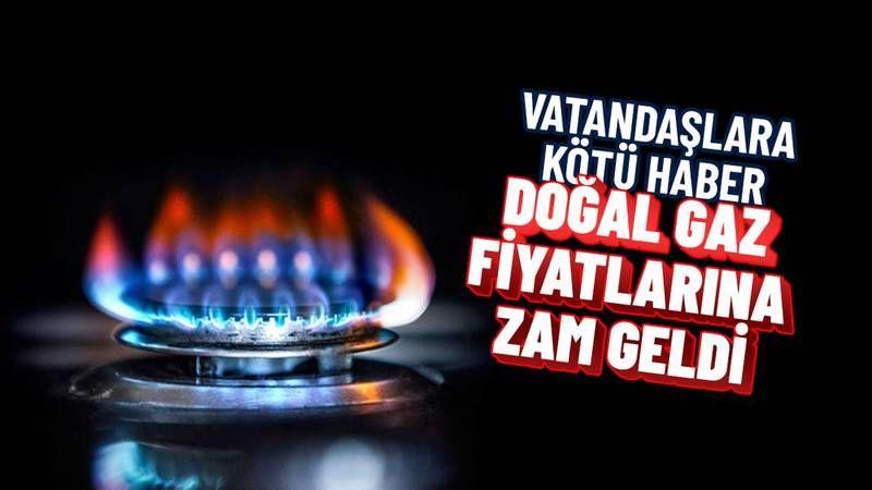 Doğal gaz fiyatlarına zam yapıldı! İşte yeni tarife