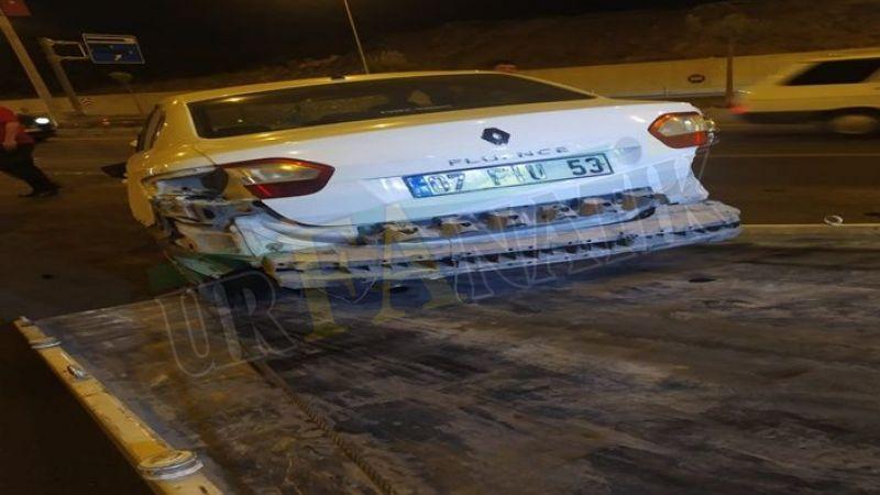 Karaköprü'de 3 araç birine girdi! Yaralılar var