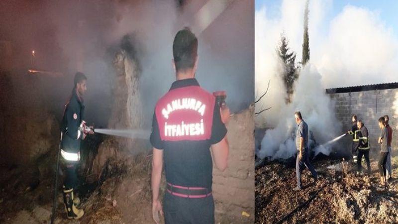 Şanlıurfa'da iki ayrı yangın! Ekipler seferber oldu