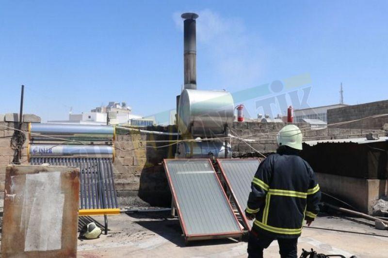 Urfa'da ekmek fırınında yangın çıktı: İtfaiye müdahale etti!