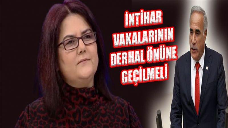 Urfa'daki intiharlar Meclis gündeminde: Derhal önüne geçilmeli