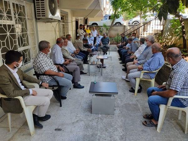 """Urfalı çiftçiler orada toplandı: """"Elektrik milletin malıdır"""""""