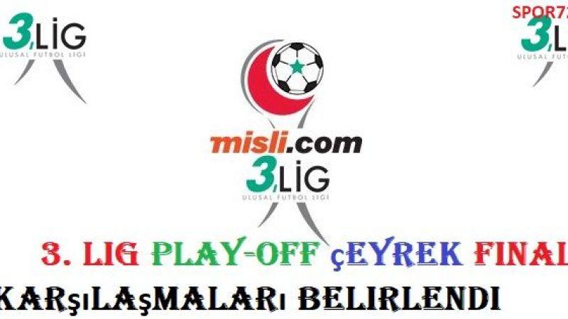3. Lig Play-Off final maçları yerleri ve programı belli oldu