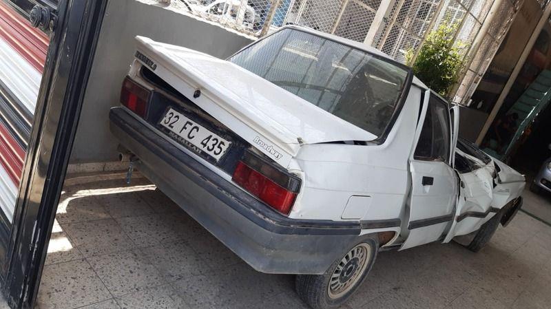 Harran'da bu araçtan sağ çıktılar