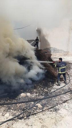Urfa'nın iki ilçesinde korkutan yangın