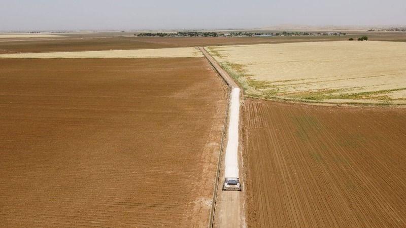 Urfa'da arazi toplulaştırma çalışmaları sürüyor