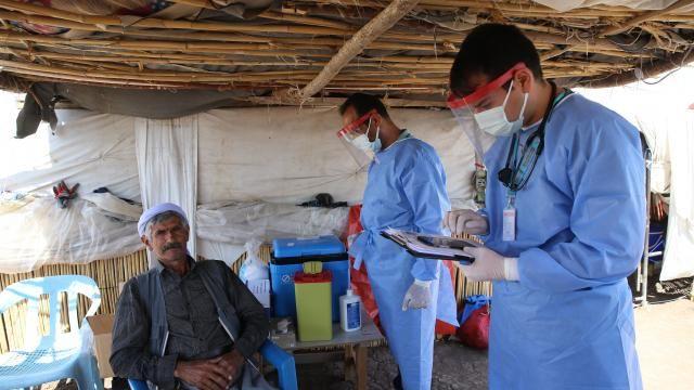 Urfalı tarım işçilerine koronavirüs aşısı yapıldı!