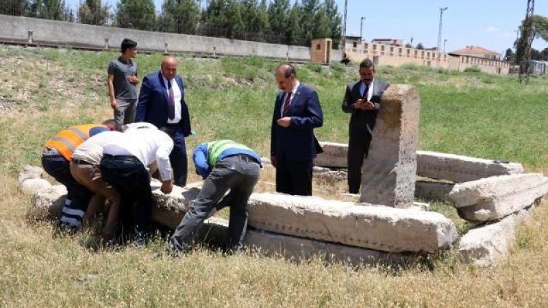 Alman mühendisin mezarı Akçakale sınırında bulundu