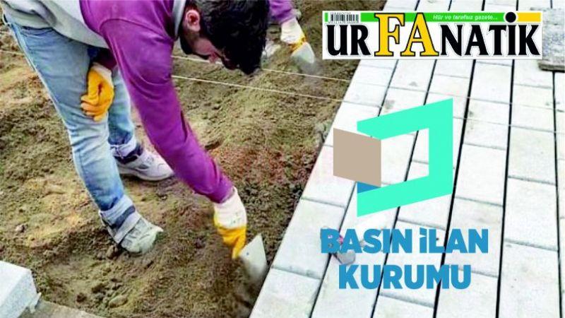Beton parke taşı ve beton bordür alınacaktır