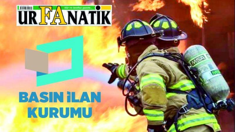 Yangınla mücadele hizmeti alınacaktır