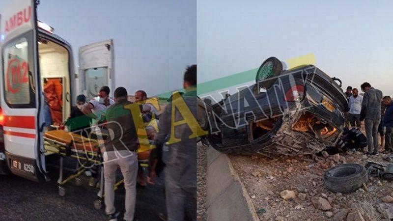 Urfa'da otomobil takla attı: Çok sayıda Yaralılar var