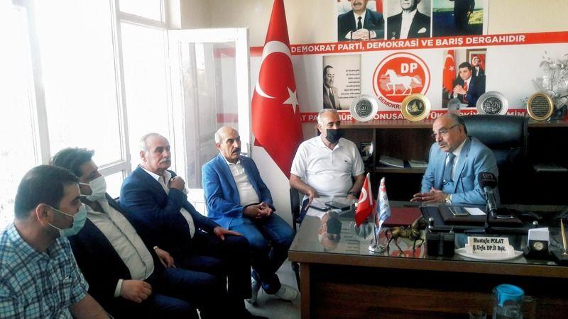 CHP heyetinden Demokrat Partisine ziyaret