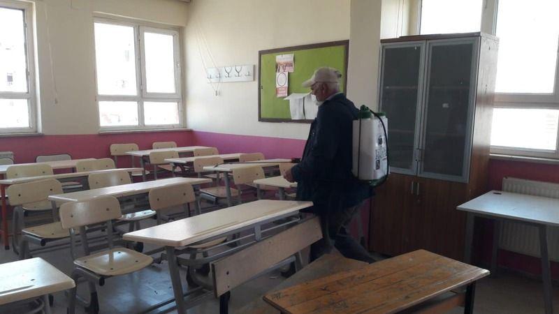 Viranşehir'de sınav öncesi hazırlık