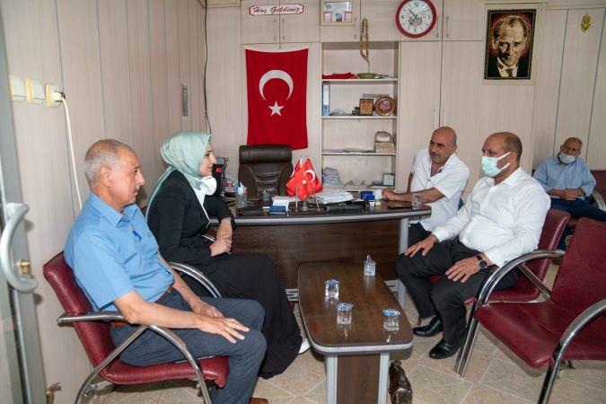 Başkan Çakmak'tan ilçe esnafına ziyaret