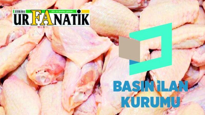 Tavuk eti ve tavuk eti ürünleri satın alınacaktır
