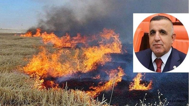 Vekil Akay'dan Anız yangınlarına karşı uyarı