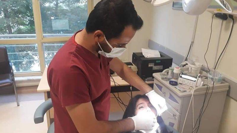 Viranşehir'de diş hekimlerinden gece mesaisi