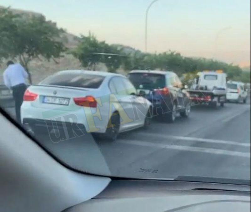 Şanlıurfa'da zincirleme kaza, 6 araç birbirine girdi!