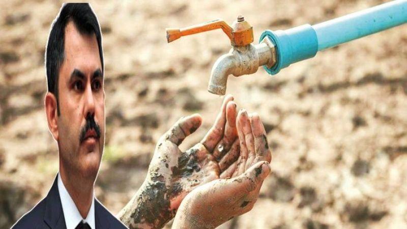 Bakan Kurum açıkladı: Su kıtlığı yaşayabiliriz