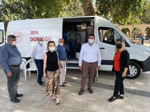 Urfa'da aşı çalışmasında yeni uygulama başladı