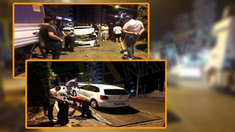 Urfa'da bu da oldu! Sürücü boş yolda kaza yaptı