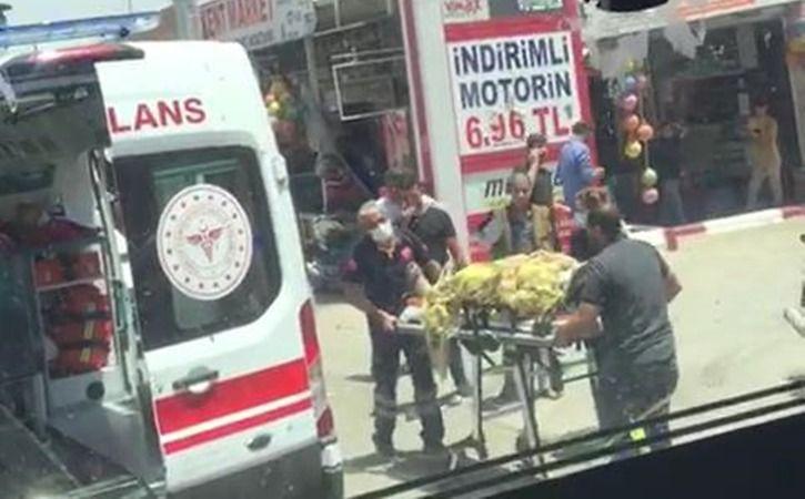 Urfa'da yine aynı kavşak yine kaza