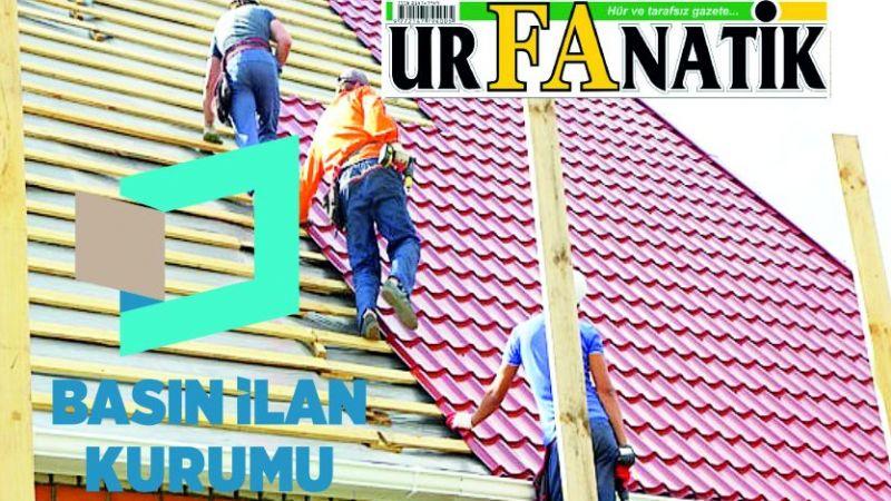 Bina çatı işleri yaptırılacaktır