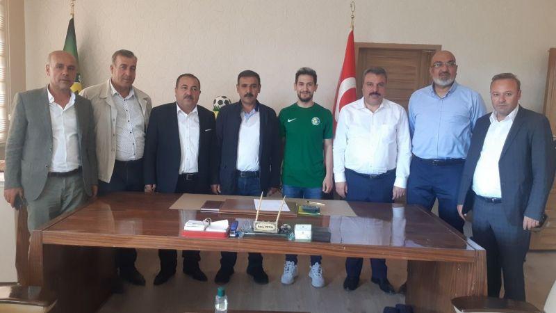 Şanlıurfaspor sezonun ilk transferini gerçekleştirdi!