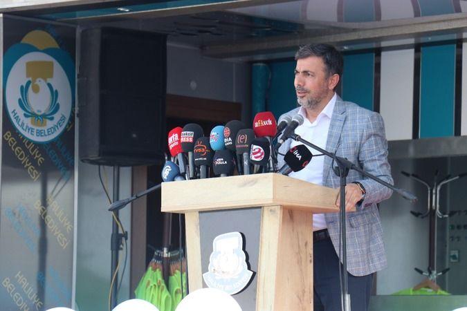 Haliliye Belediyesi'nden toplu açılış ve temel atma töreni