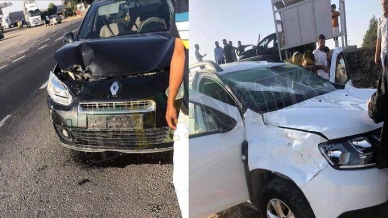 Urfa maddi hasarlı kaza