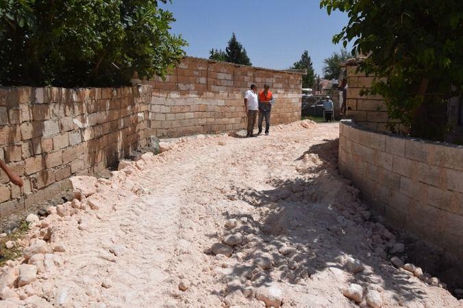 Viranşehir mahallelerinde çalışmalar sürüyor