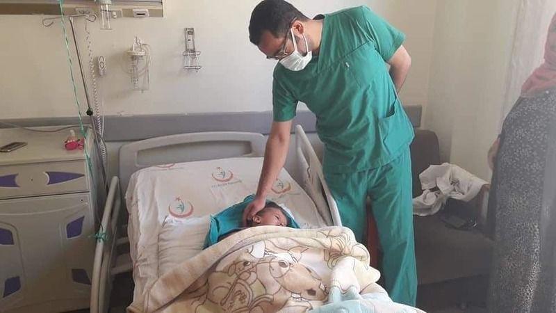 Birçok hastaneye gittiler ama çareyi Viranşehir'de buldular