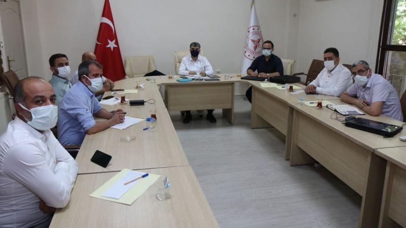 Şanlıurfa'ya atanan Sağlık Müdürü ilk toplantısını yaptı!
