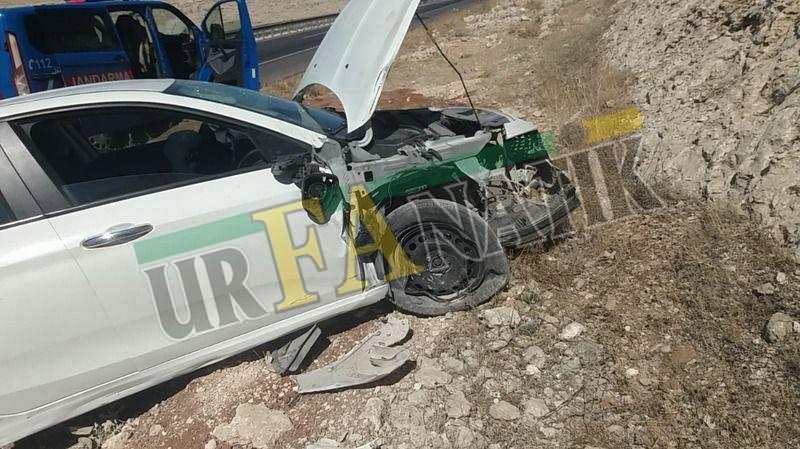 Urfa-Mardin yolunda feci kaza:Yaralılar var