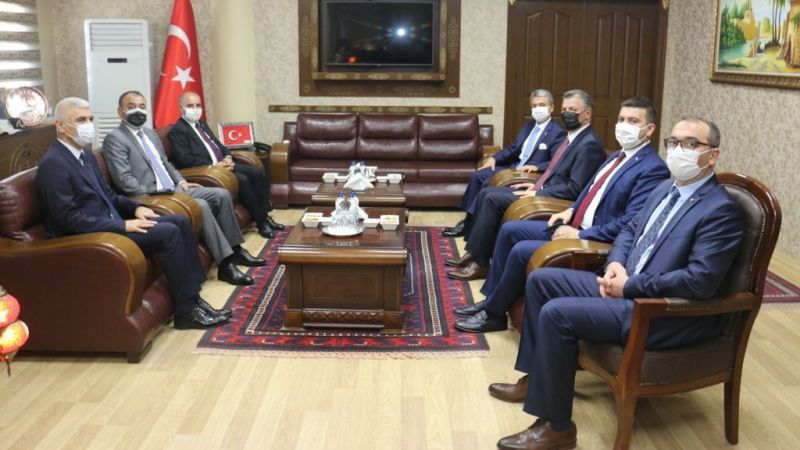 Emniyet Genel Müdürü Aktaş Urfa'da: Başsavcıya ziyaret